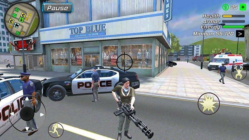 Super Miami Girl: City Dog Crime (Image via GameScott, YouTube)
