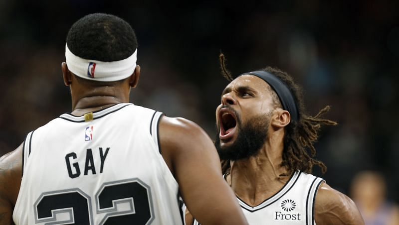 Patty Mills and Rudy Gay of the San Antonio Spurs ended up getting monetary fines.