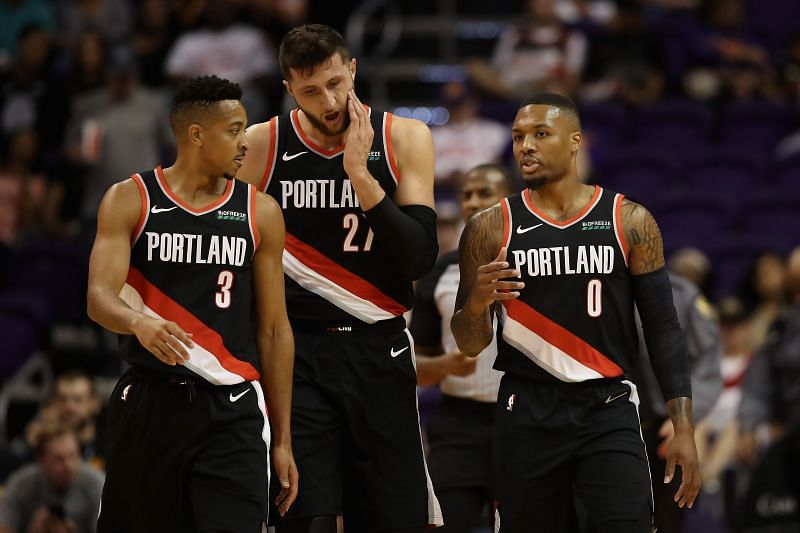 The Portland Trail Blazers are floundering at the moment.