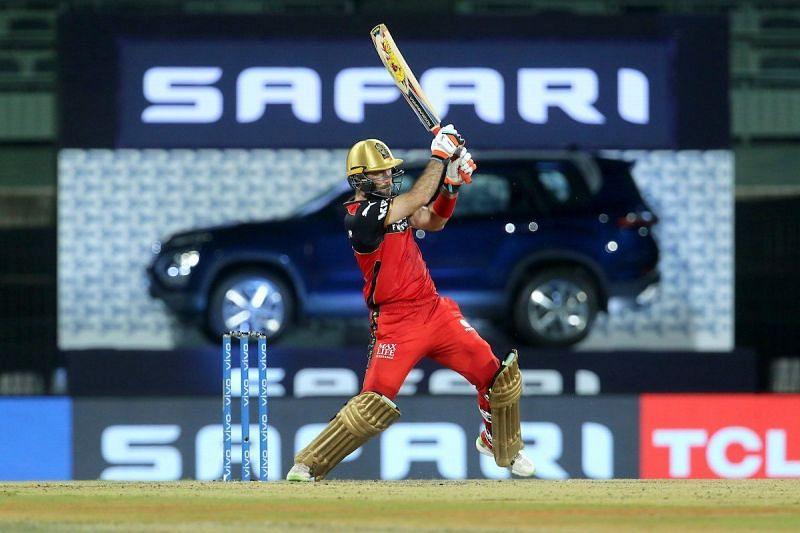 RCB batsman Glenn Maxwell