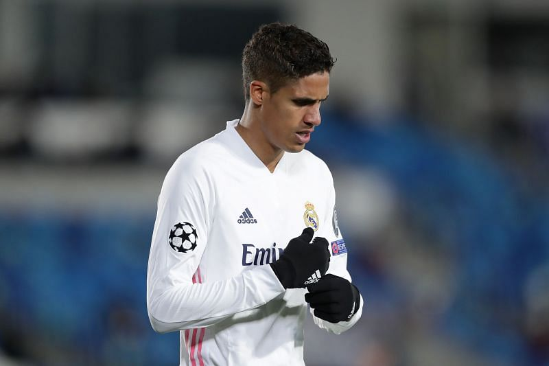 Raphael Varane had missed both the legs against Liverpool but is now back