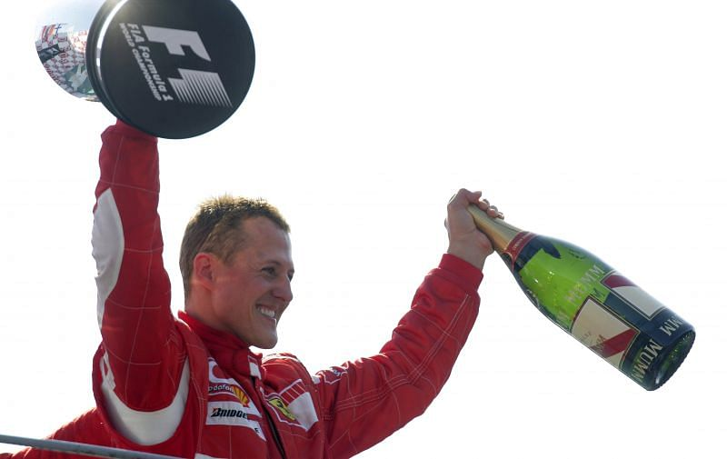 Michael Schumacher and Ferrari are synonymous with each other. Photo: Mark Thompson/Getty Images.