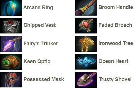 All tier-1 neutral items in Dota 2