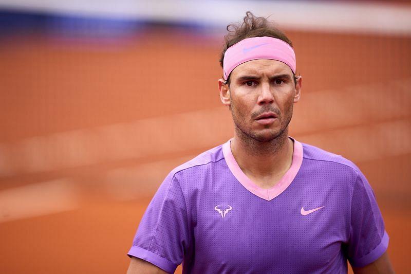 Rafael Nadal at the Barcelona Open 2021