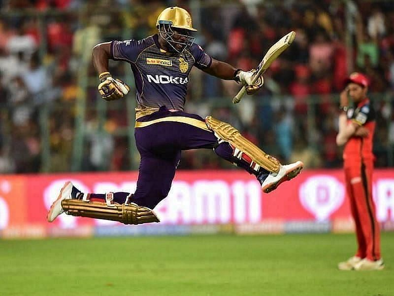 How many runs will Andre Russell for KKR score this season?