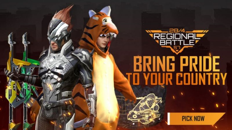 Free Fire Regional Battle Season 7 has commenced (Image via Free Fire)