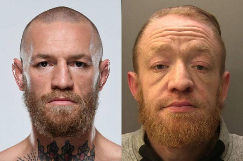 Conor McGregor (left); Mark Nye (right)