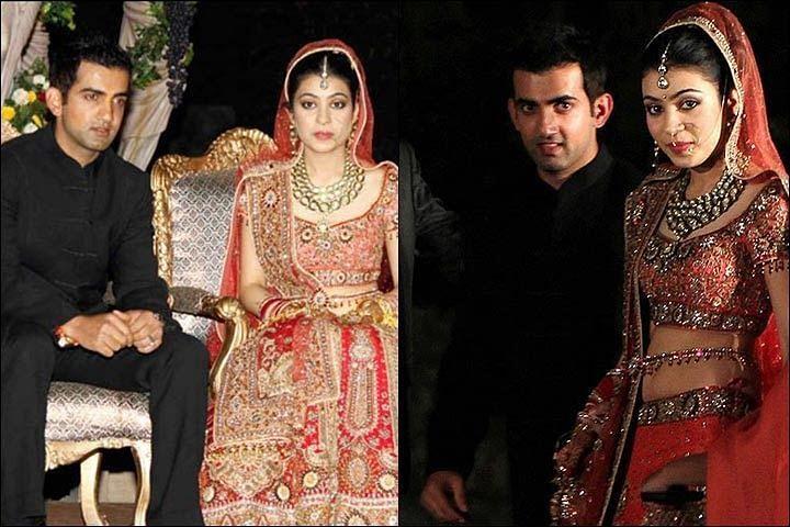 Gautam Gambhir with wife Natasha Gambhir