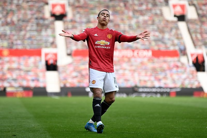 The United teenager capped a sparkling display with a brace