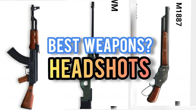 Weapons can also play a major role in Free Fire while performing headshots on the ground.