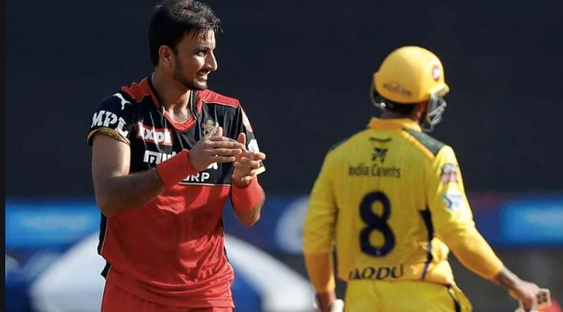 Harshal Patel had a game to forget against CSK