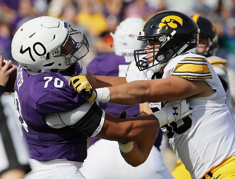 Northwestern Offensive Tackle Rashawn Slater