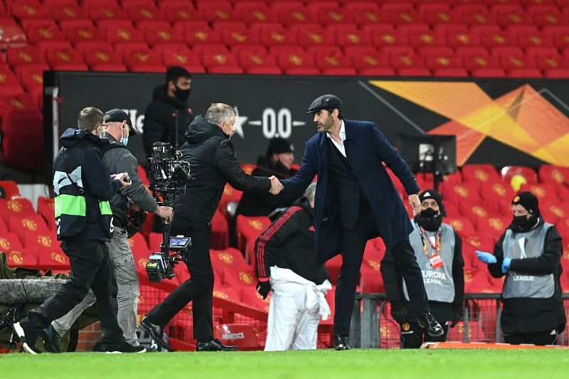 Manchester United took a huge step towards qualifying for the Europa League final with their emphatic win.