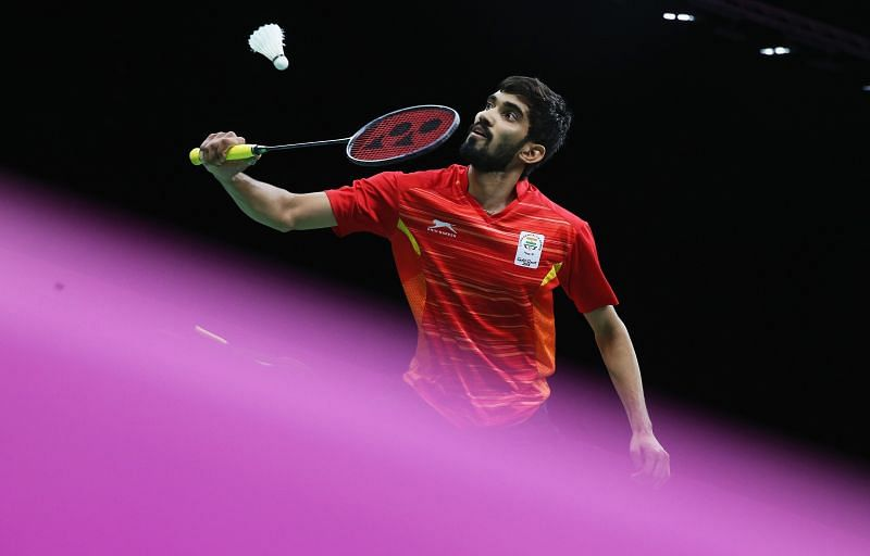 Former World No. 1 Kidambi Srikanth is placed 20th in the Race to Tokyo rankings.