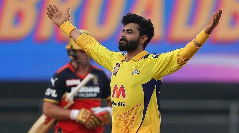 Ravindra Jadeja was unplayable against RCB (Credits: Indian Express)