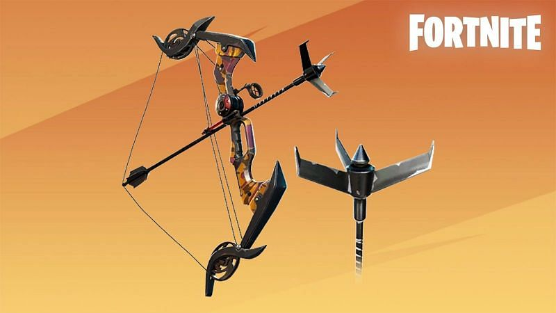 Obtaining the Exotic Grappler Bow in Fortnite Season 6 (Image via Epic Games, Fortnite)