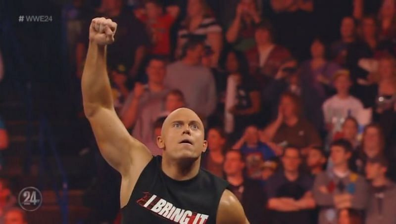 The Miz was told by Vince McMahon to impersonate The Rock