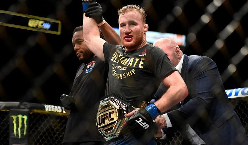 Justin Gaethje is a former interim UFC lightweight champion