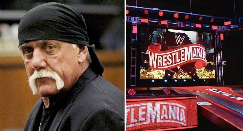 Hulk Hogan was originally scheduled to host WrestleMania 36