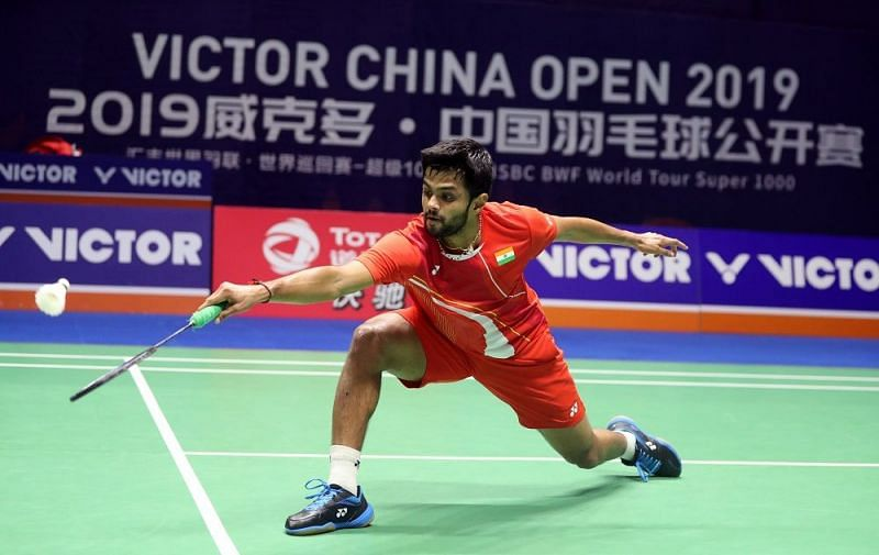 B Sai Praneeth, Image Credit: BWF website