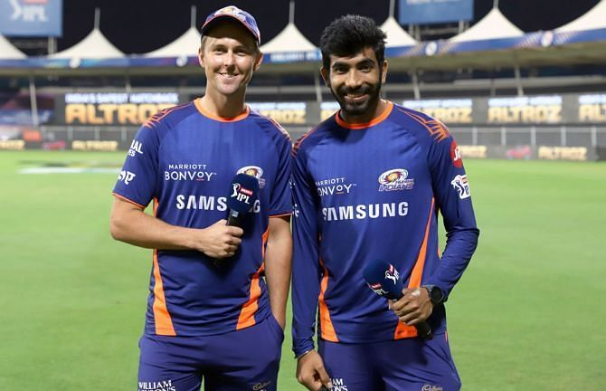 Jasprit Bumrah and Trent Boult formed a lethal partnership last year