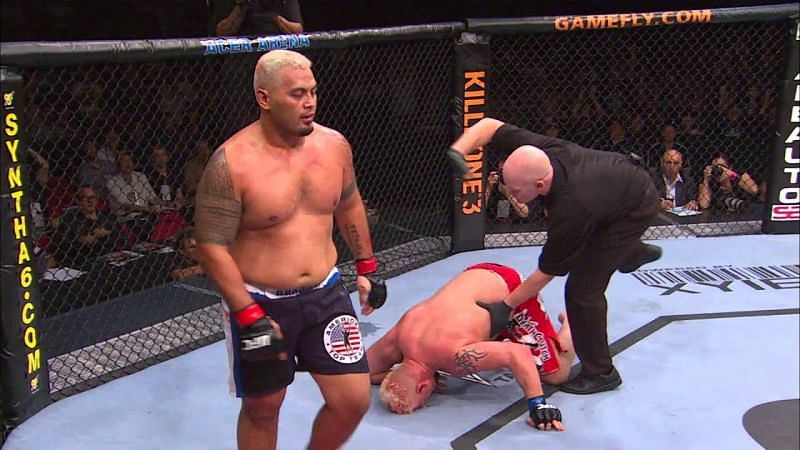 """Former UFC star Mark Hunt will forever be linked with the """"walk-off"""" knockout."""