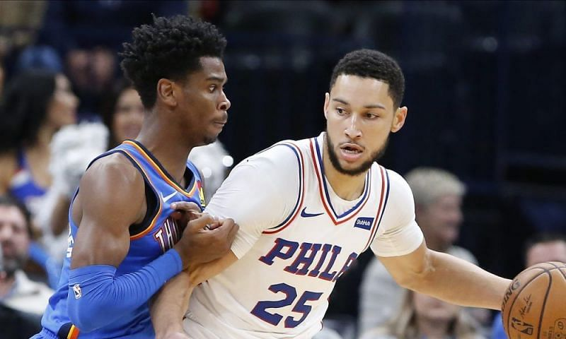 The OKC Thunder and the Philadelphia 76ers will face off on Monday