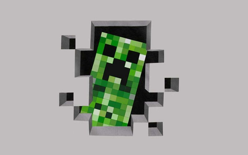 Creeper Minecraft (Image via wallpapercave)