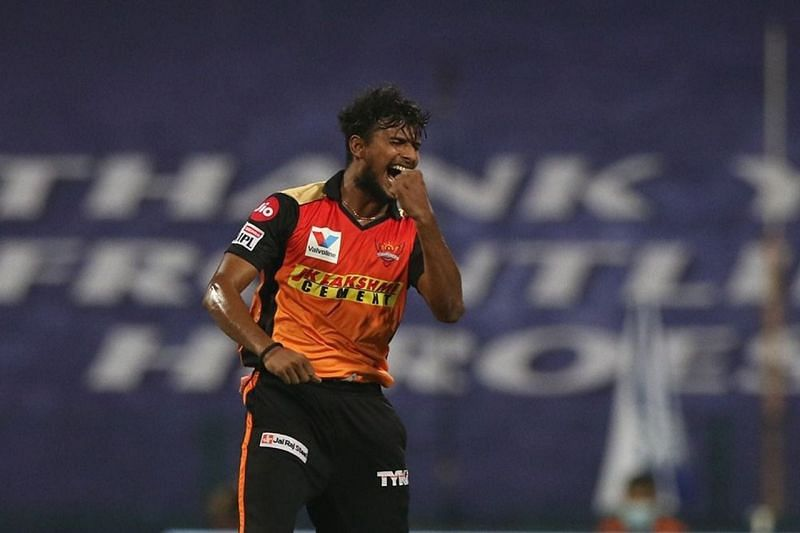 T Natarajan has picked 18 wickets at a strike-rate of 25.17 in 22 IPL matches [Credits: IPL]
