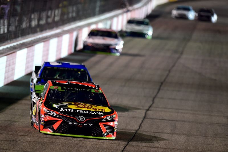 Martin Truex Jr. will lead the field at this weekend's Toyota Owners 400 at Richmond Raceway. Photo by Jared C. Tilton/Getty Images