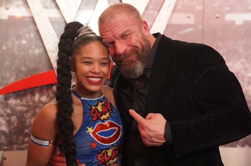 Triple H and Bianca Belair