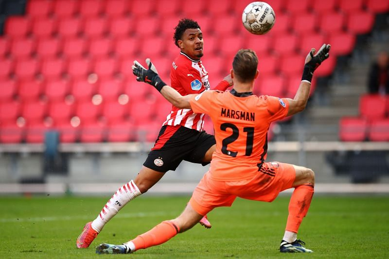 Donyell Malen has maintained his scintillating goal-scoring form this season, tallying 23 goals in 39 appearances for PSV in all competitions