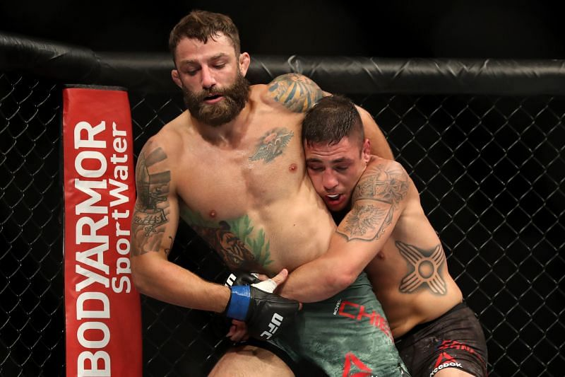 Reports suggested Diego Sanchez was planning to use a Stone Cold Stunner against Michael Chiesa.