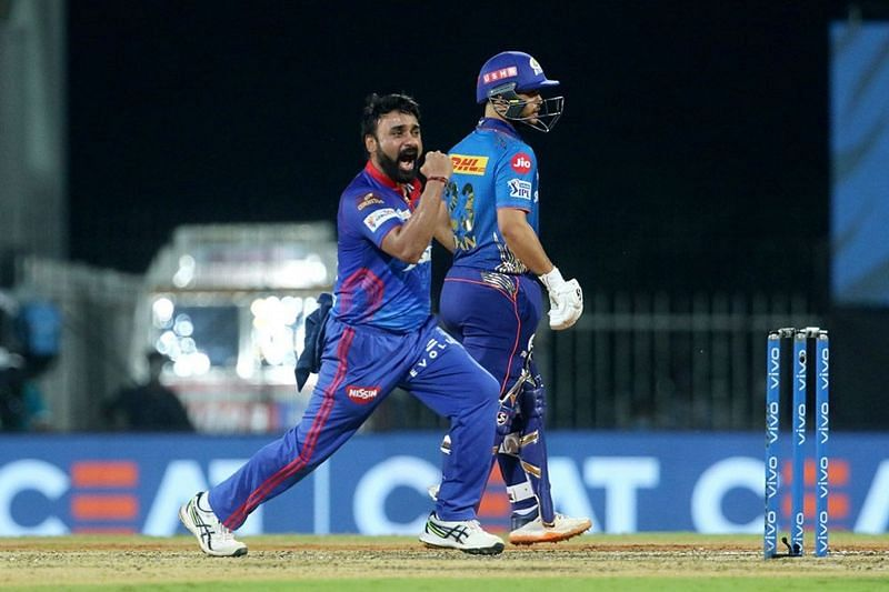 Brought in for this game, Amit Mishra spun a web around Rohit Sharma