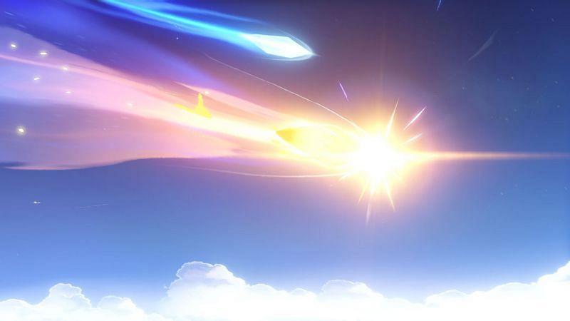 A 5-star wish in Genshin Impact (Image via Genshin Impact)