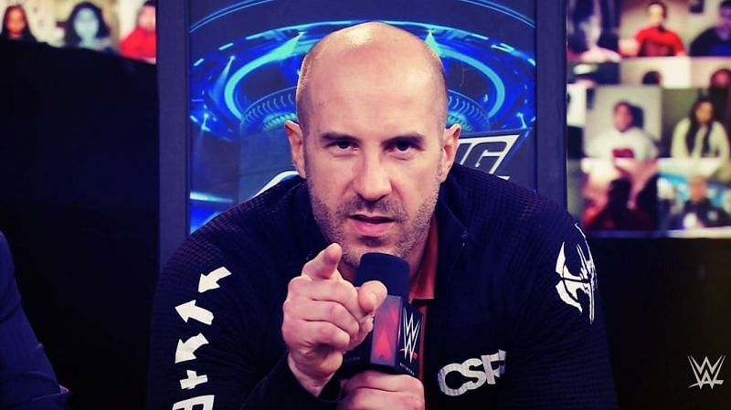 Cesaro seems to be heading for the main event on SmackDown (Credit: WWE)