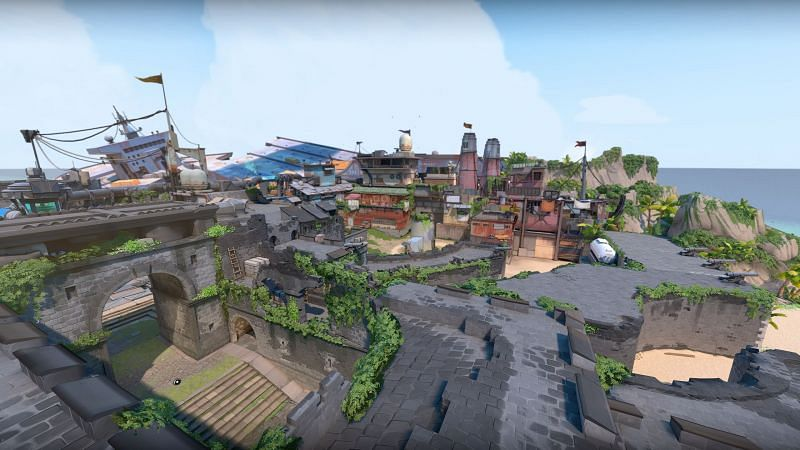 Overview of the new Breeze map in Valorant (Image via Riot Games)