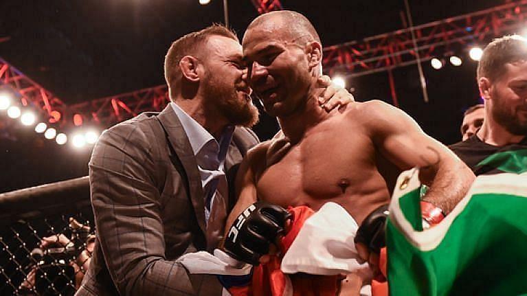 Conor McGregor and Artem Lobov