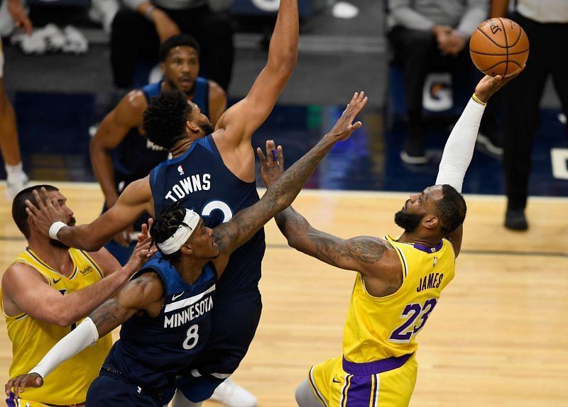 LA Lakers vs Minnesota Timberwolves