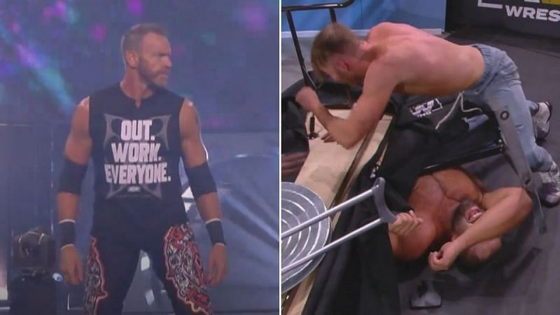 Christian Cage made his in-ring AEW debut this week