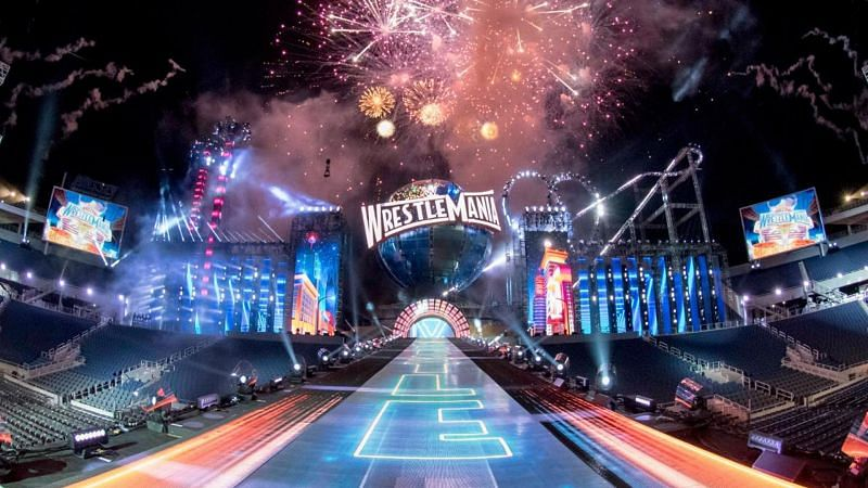 WWE has created some incredible WrestleMania sets throughout the years