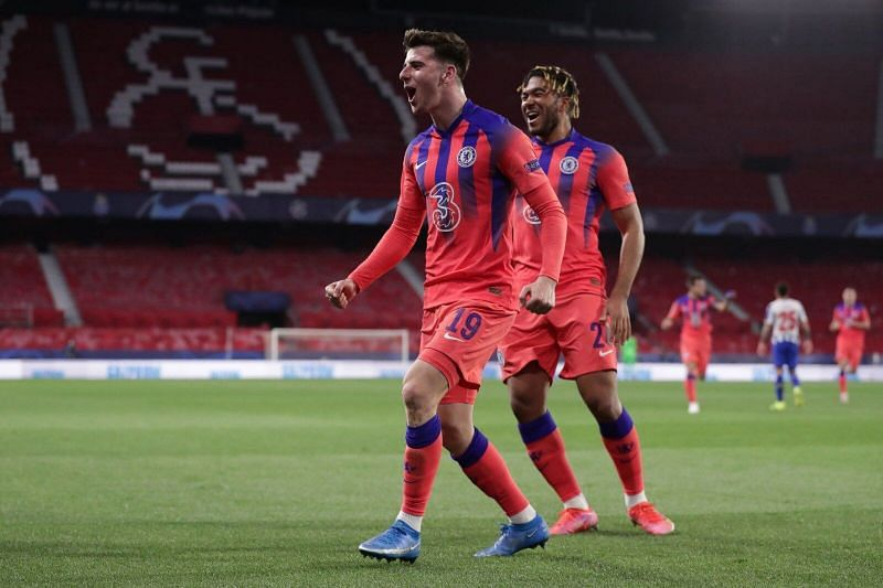 Mason Mount scored his first-ever Champions League goal for Chelsea.