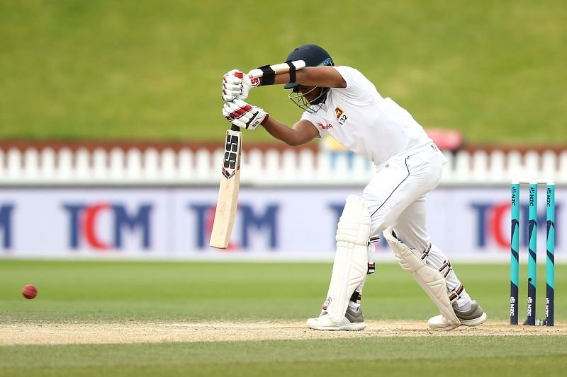 Kusal Mendis, here seen against New Zealand, played magnificently for his 196