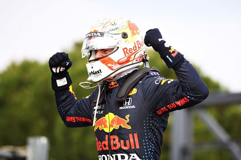 Max Verstappen won a classic race at Imola. Photo: Mark Thompson/Getty Images.