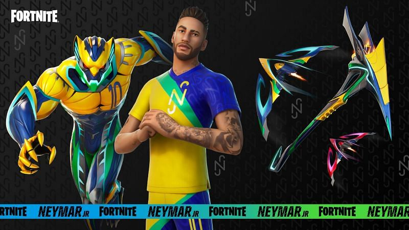 Neymar Jr primal style - Image via Epic Games