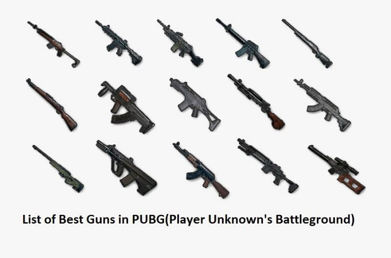 Weapon combinations can be key in rank climbing (Image via Clipartkey.com)