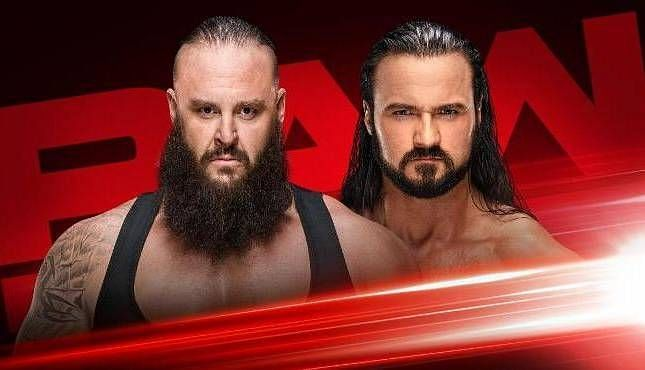 McIntyre and Braun Strowman could go to war after WrestleMania