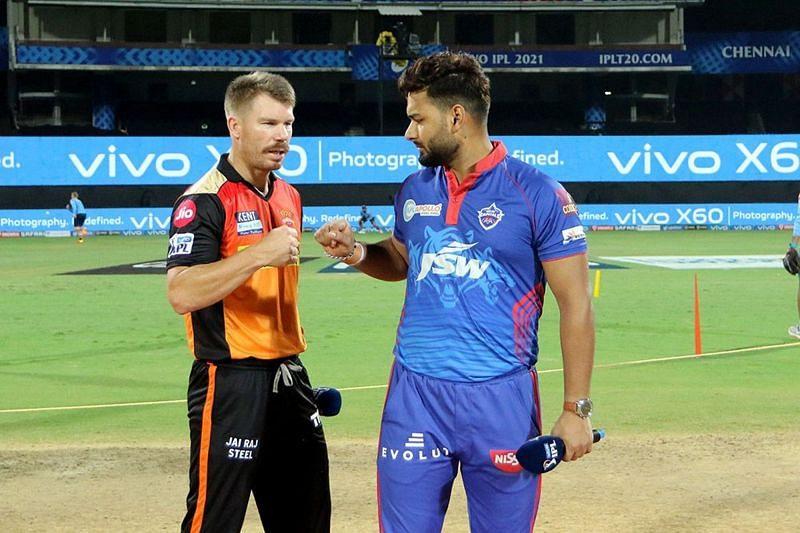 Rishabh Pant (R) has done a good job as the captain of the Delhi Capitals team (Image Courtesy: IPLT20.com)
