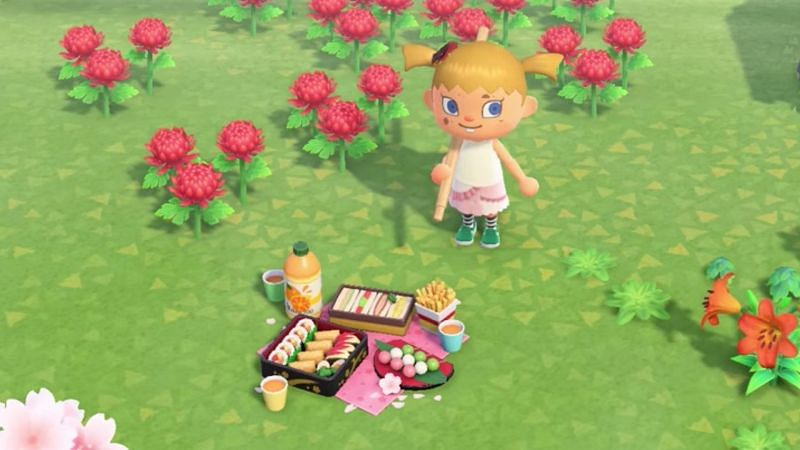 Animal Crossing New Horizons How To Unlock And Craft The Cherry Blossom Diy Recipes