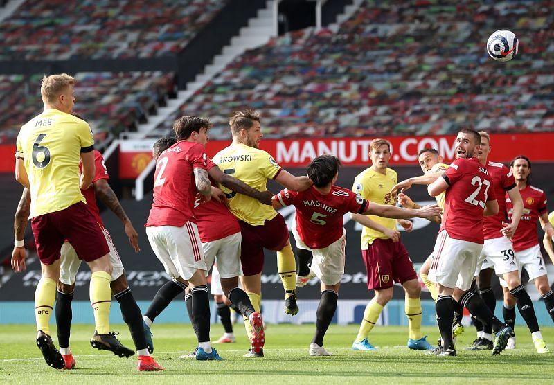 Manchester United defeated Burnley in the Premier League on Sunday